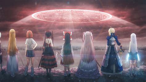 anime crossover date   sword art