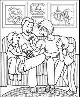 Coloring Pages Living Children Coloringpagesfortoddlers Clip Evening Lessons Lds Clipart Class sketch template