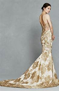 42 best champagne yellow gold wedding gowns images on With gold dresses for weddings