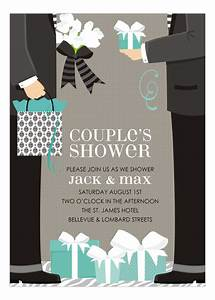 blue two grooms classic couple wedding shower invitation With wedding shower for two grooms