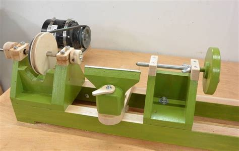 homemade wooden lathe woodworking plans wood turning