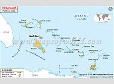 Nassaun Map Map of Nassaun City, Bahamas
