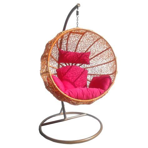 siege a suspendre swing chaise siège à suspendre fauteuil rotin synthétique