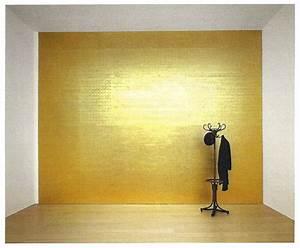 Peinture Beige Doré : or et art contemporain delafee ~ Zukunftsfamilie.com Idées de Décoration