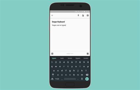 toetsenbord app swype stopt geen verdere updates gepland