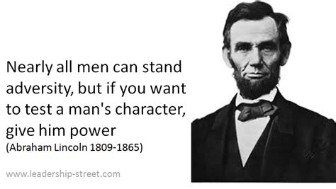 Abraham Lincoln Quotes On Leadership