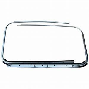 113-853-321 322c Chrome Molding W  Scraper