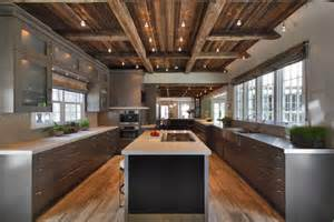 rustic modern kitchen ideas defining elements of the modern rustic home