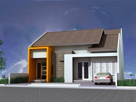 gambar rumah minimalis satu lantai terbaru  desain