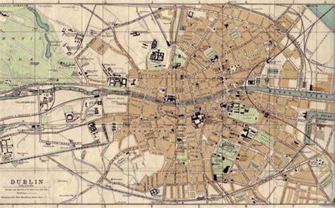 ulysses map Pesquisa Google Dublin map Map Vintage