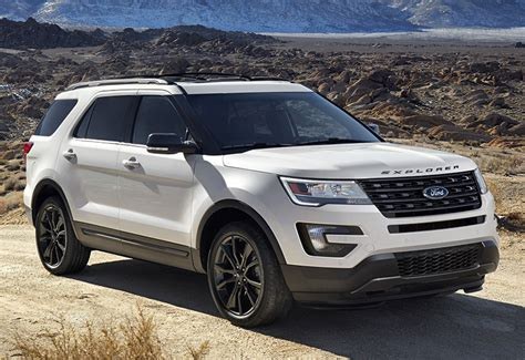 2017 Ford Explorer Sport by 2017 Ford Explorer Sport U502 Specifications Photo