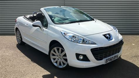 Peugeot 207 Convertible by Used Peugeot 207 Cc Convertible 1 6 Vti Gt 2dr 2011 Ef60epa