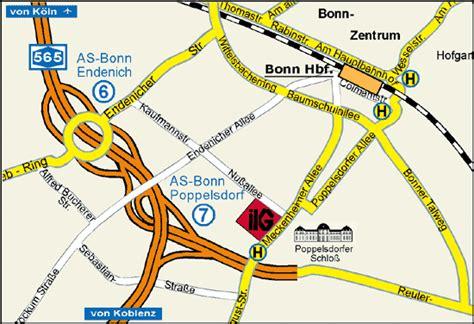 Am Botanischen Garten Bonn Haltestelle by Anfahrt