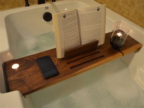 bathroom bath tub caddy  spa  atmosphere