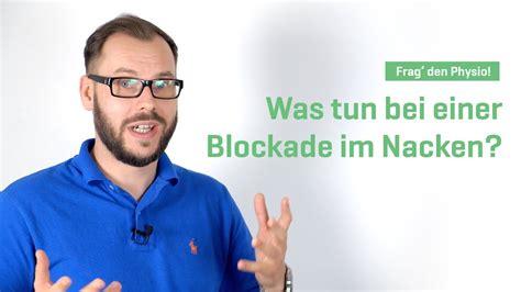 blockade im kopf was tun bei einer blockade im nacken frag den