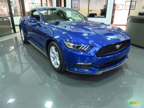 2017 Ford Mustang V6 Specs by 2017 Lightning Blue Ford Mustang V6 Coupe 117434778