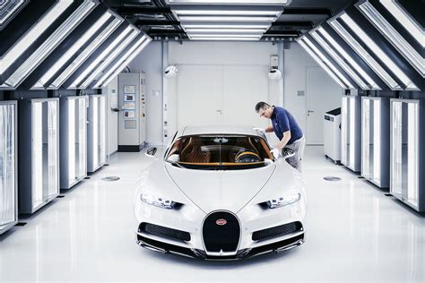 bugatti factory bugatti starts chiron production in its molsheim factory
