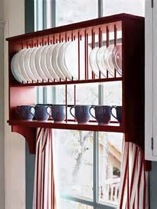 kitchen dish rack ideas 15 creative ideas to organize dish and plate storage on your kitchen shelterness