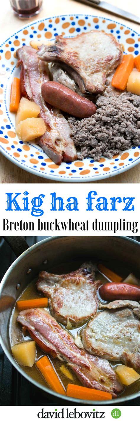 cuisine bretonne kig ha farz kig ha farz breton buckwheat dumpling david lebovitz