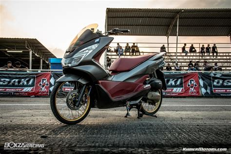 Pcx 2018 Price In Cambodia by Honda All New Pcx 150 5 Khmer Motors
