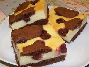 Käse Kirsch Kuchen Blech : schoko quark kuchen ~ Lizthompson.info Haus und Dekorationen