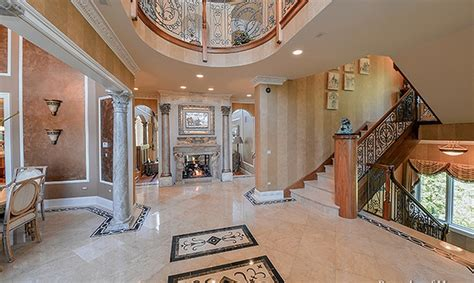 square foot stone stucco mansion  naperville il homes   rich