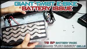 Giant Twist E-bike Battery   Charging Issue
