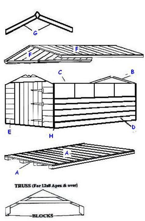 Yardline Shed Assembly Manuals by Apex Shed Assembly