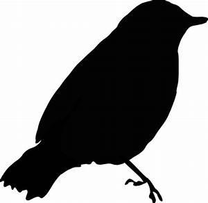 Black Bird Clip Art at Clker.com - vector clip art online ...