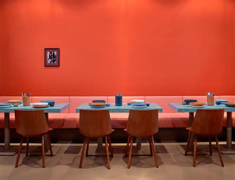black upholstered louis pretty serves up design and pastrami in berlin