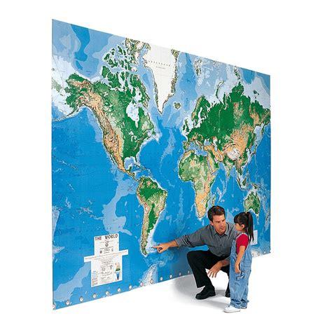 Acheter Carte Du Monde Geante by La Mappemonde G 233 Ante Une Carte Du Monde Immense