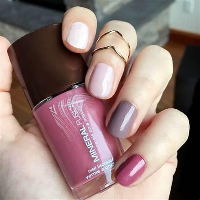 Nail Polish Mineral Fusion Manicure Colors Rose