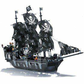 Black Pearl LEGO Compatible Pirate Ship | Gentlemint