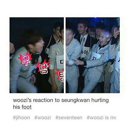Seventeen Memes - 17 seventeen kpop memes woozi seungkwan image 3683476 by lauralai on favim com