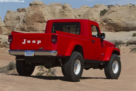 jeep pickup truck making  comeback drivingline