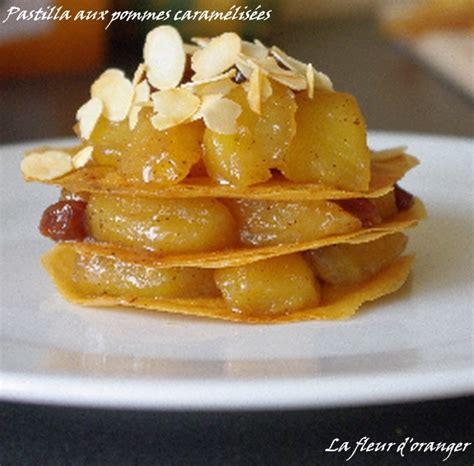 dessert avec 2 pommes pastilla aux pommes caram 233 lis 233 es pour 4 personnes recettes 224 table