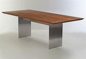 Esstisch Holz Metall Design : esstisch ausziehbar holz metall com forafrica ~ Buech-reservation.com Haus und Dekorationen
