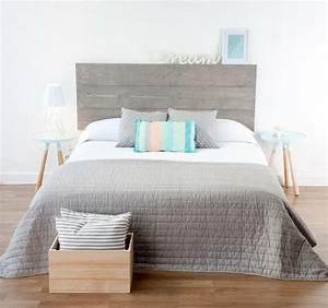 Lit Design Bois : fabriquer une t te de lit en bois c 39 est simple et c 39 est chic ~ Teatrodelosmanantiales.com Idées de Décoration