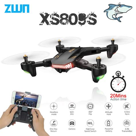 visuo xss xshw foldable selfie drone  wide angle mpmp hd camera quadcopter wifi