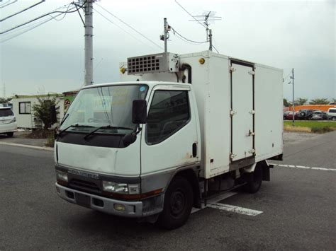 Mitsubishi Canter Freezer And Refrigerator, 1996, Used For