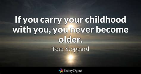 tom stoppard   carry  childhood