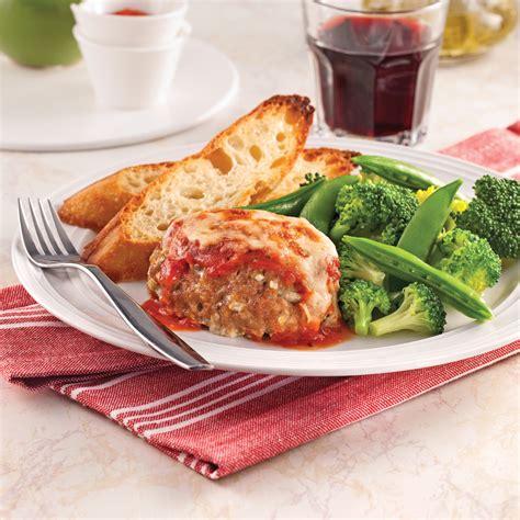 cuisine viande mini pains de viande parmigiana recettes cuisine et
