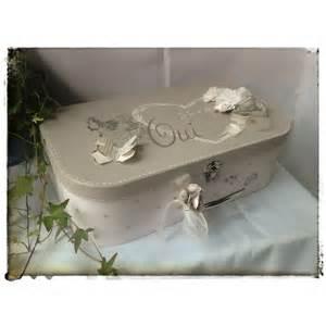 urne mariage valise valise urne de mariage quot oui quot atelierplumedangeboutique