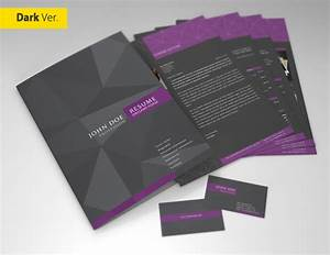 professional resume cv template on behance With professional resume folder