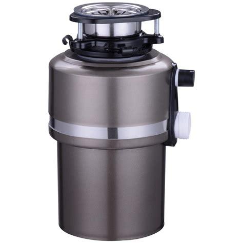 garbage disposal garbage disposal 3 4hp continuous feed home kitchen food
