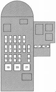 Lexus Sc 400  Z30   1991  U2013 2000   U2013 Fuse Box Diagram