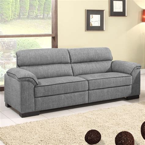 grey leather and fabric sofa ealing two tone mid grey fabric sofa collection with black