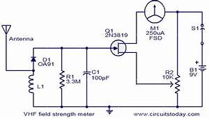 Vhf Field Strength Meter