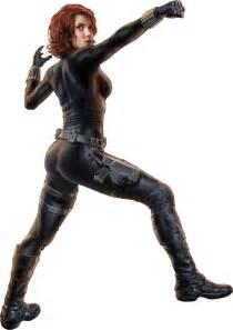 Transparent Black Widow Marvel