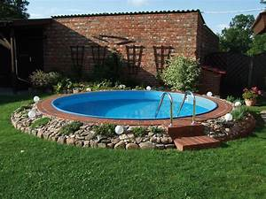 Runder Pool Im Garten : kit piscine acier ronde enterr e x m 80670 80671 ~ Articles-book.com Haus und Dekorationen